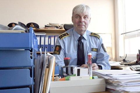 SJELDENT: En episode som oppsto torsdag morgen beskrives av Tolletatens Rolf Berget som sjelden.