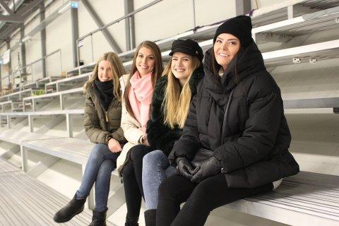 Fra venstre: Katrine Finnerud (27), Kaia Eline Trulsen (22), Julia Levison (22) og Oda Nyborg Eidum (20).