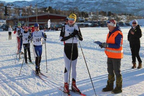 Tobias Sørslett Samuelsen fra Ballangen Ski.