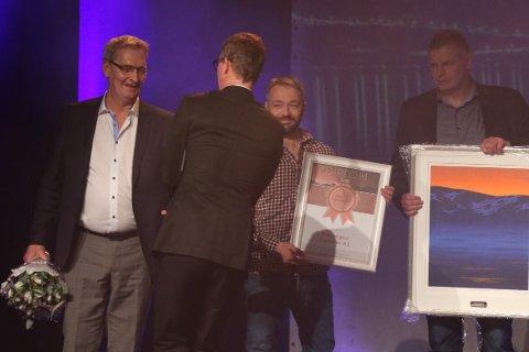 """Ballangen sjøfarm fikk prisen for """"Årets bedrift"""""""