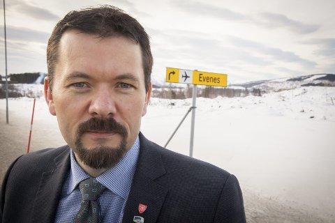 Ordfører Svein Erik Kristiansen.