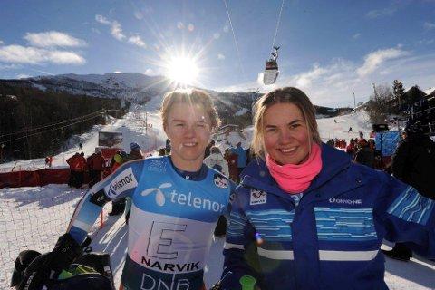 Johanne Eilertsen og Oliver Stokkedal er klar for Hovedlandsrennet i alpint.