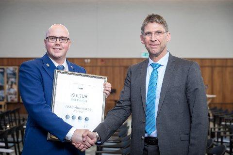 Erik Rystad Jan Moström LKAB Stipendie kulturstipendie lkab musikkorps narvik