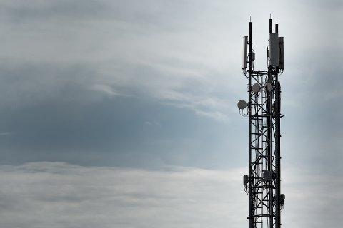 PROBLEMER: Mandag er det store problemer med mobildekningen flere steder i Narvik kommune. Illustrasjonsfoto