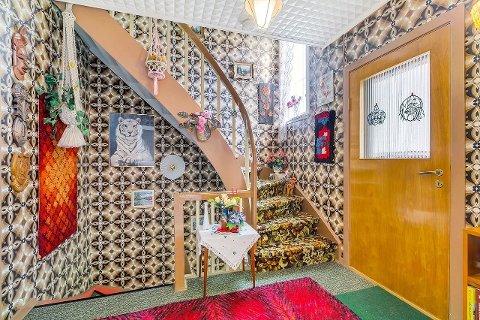 BEVART: Stilen fra en svunnen tid er bevart i denne boligen.