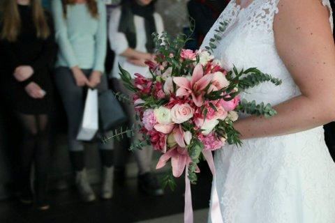 Illustrasjonsfoto fra bryllupsshow.
