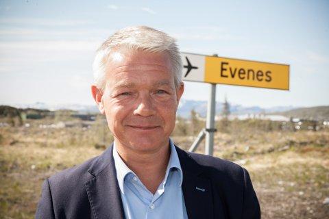 Rolf M. Lossius, rådmann i Evenes
