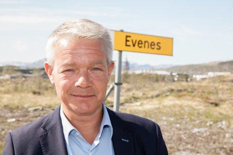 Rolf M. Lossius, ny rådmann i Evenes.