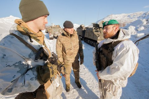 Inntil 700 amerikanske soldater vil fordeles på Setermoen og Værnes.