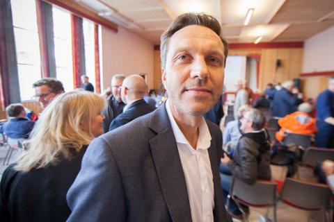– Uvirkelige summer, sa Banksjef Tor-Andre Grenersen i Ofoten sparebank. Han var blant de som onsdag fikk presentert planene for utbyggingen av Evenes flystasjon.