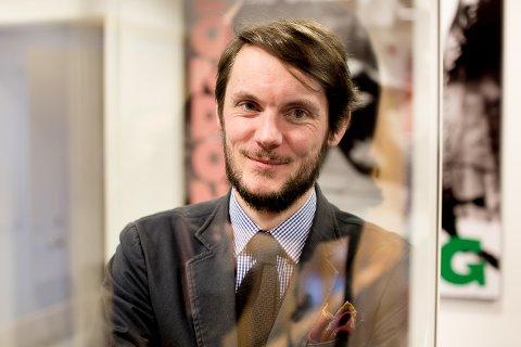 NYANSATT: Tord Karstein Rønning Krogtoft er den nye markedsdirektøren i Nasjonalmuseet.