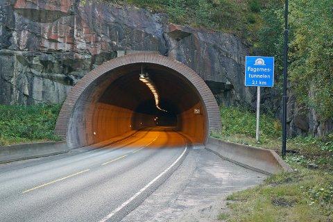 Åpner: Fagernestunnelen.