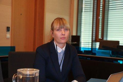 AKTOR: Politiadvokat Henriette Birkelund påpekte i sin sluttprosedyre den høye personlige belastningen saken har vært for den fornærmede kvinnen. Foto: Lars Eidissen