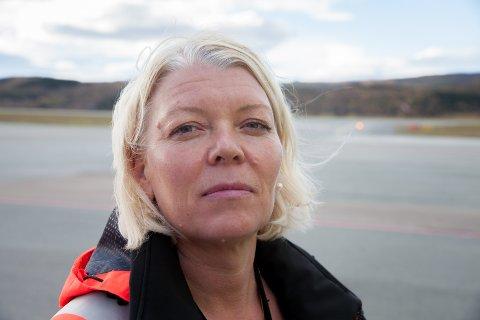 Lufthavnsjef Anne Britt Bekken
