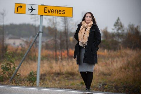 SKUFFET: Nylig avtroppet ordfører Sisilja Viksund mener det ikke var mulig å forutse at Evenes Høyre skulle sprekke.