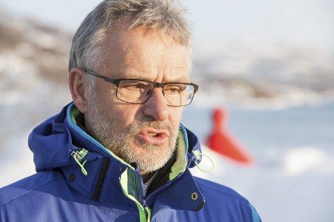 Per Kristian Arntzen har store forventninger når representanter fra det kanadiske selskapet Hive igjen setter kursen for Ballangen. - Det handler om arbeidsplasser og planer om flere etableringer, sier han.