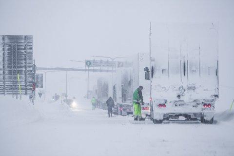 Denne vinteren har Statens vegvesen kontrollert vinterutrustningen på 11.286 tunge kjøretøy i Nord-Norge. Det er 3.638 flere enn forrige vinter.