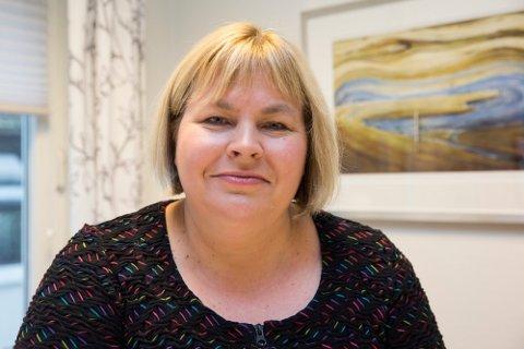 TAKHØYDE: Generalsekretær i Norsk Presseforbund Elin Floberghagen, reagerer ikke på tegningen som har skapt krenkestorm i Sverige.