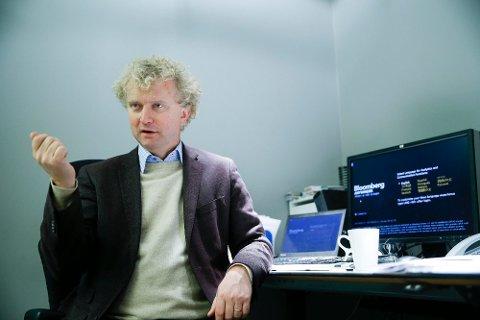 Sjeføkonom Jan Ludvig Andreassen i Eika-gruppen minner om at man med et for lavt antall mennesker verken får produsert eller brukt noe som helst. Foto: Terje Pedersen (NTB scanpix)