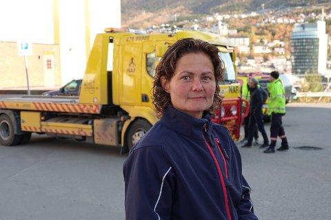 FORNØYD: Hege Strøm Johansen driver Rema Frydenlund. Hun forteller at hun er fornøyd med årsresultatet for 2019. Arkivfoto