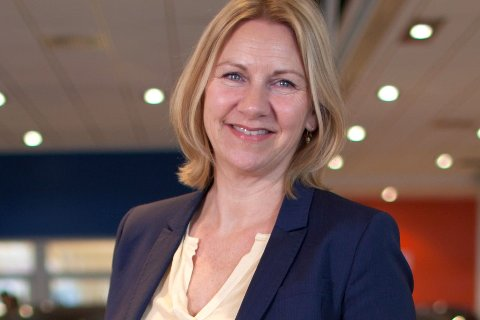 FORNØYD: Styreleder Heidi Sommerseth sier seg svært godt fornøyd med nyansettelsen. Det var 18 søkere til stillingen som ny Fururum-sjef.
