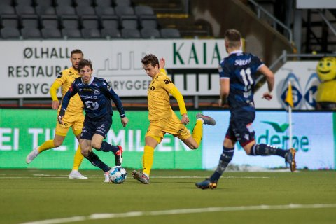 Bodø 20191124. Eliteserien fotball 2019: Bodø/Glimt-Kristiansund. eliteseriekampen mellom Bodø/Glimt og Kristiansund på Aspmyra stadion.Foto: Mats Torbergsen / NTB scanpix