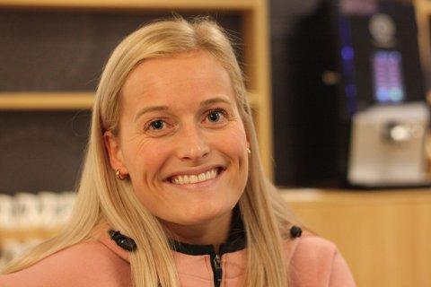 MØTTE METZ: Marit Røsberg Jacobsen var i aksjon i Champions League-kamp søndag. Team Esbjerg tapte hjemmekampen med tre mål.