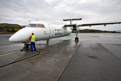 WIDERØE: Flyselskapet kutter ruten mellom Evenes og Bodø og Evenes og Andenes. Arkivfoto
