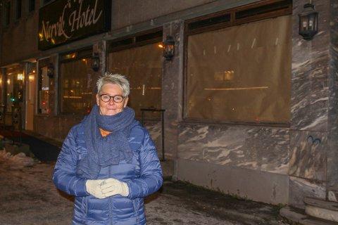 ÅPNER NY DAGLIGVAREBUTIKK: I oktober fortalte Anne-Lise Olsen at hun legger ned kiosken som på folkemunne heter Gyda. Nå kan hun avsløre at hun på nyåret åpner dagligvarebutikk lenger ned i Kongens gate.