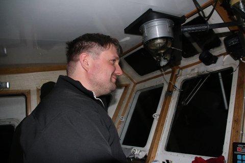 STYRMANN: Fredrik Holtet Lien (32) i jobb for Narvik Havn.