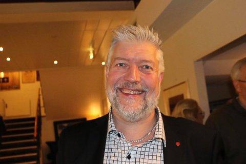 GLEDER SEG: Boy Arne Buyle gleder seg over svarene han fikk fra ordføreren om etablering av beredksapskai i Beisfjord.