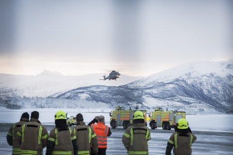 1000-tips: Fremover-tipseren som først meldte fra om situasjonen med forsvarshelikopteret som måtte nødlandet på Evenes, ble belønnet med 1000 kroner. Foto: Ragnar Bøifot