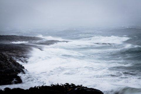 UVÆR: Lørdags kveld blir det uvær i Ofoten med kraftig vind og regn. Det er betegnende også for neste uke. Illustrasjonsfoto.