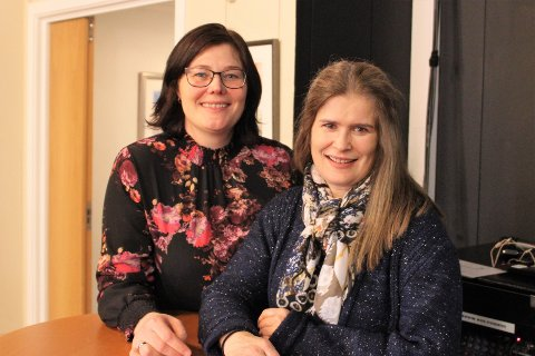 Økt innsats: Prosjektleder Kristin Zimmermann (til venstre) fra Narvik kommune og Liv Salen fra Kompetansesenter rus, Nord-Norge sørget for faglig påfyll for hundretalls kursdeltakere.