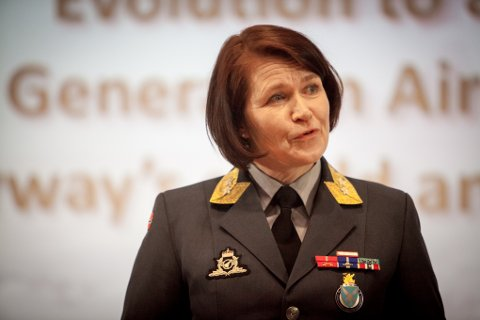 Sjef Luftforsvaret, generalmajor Tonje Skinnarland