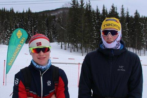 Raske briller: Per-Anders Lind og Tobias Sørslett Samuelsen er to svært lovende unggutter som går foran og viser vei i en klubb i vekst og utvikling. Mye og riktig trening samt raskt utstyr må til.