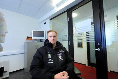 Anders Thunman scoret tre ganger i tapet lørdag.