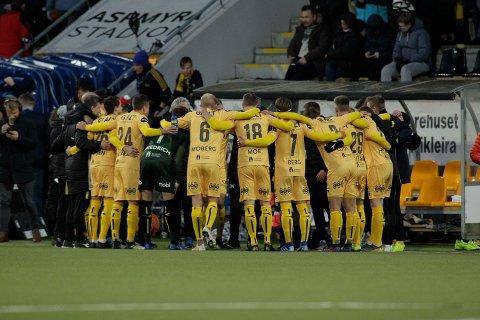 Eliteseriekampen i fotball mellom Bodø/Glimt og Rosenborg på Aspmyra stadion søndag kveld. Foto: Mats Torbergsen / NTB scanpix