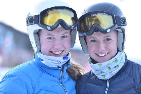 Mathilde og Pernille Sund fra Narvik Slalåmklubb.