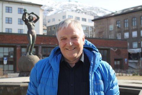 NÆRINGSLIVSTOPP: Erik Sommerli er daglig leder for Ballangen Sjøfarm. Etter å ha lagt et spesielt år bak seg for oppdrettsnæringa, håper Sommerli på et godt år for både fisk og ansatte.