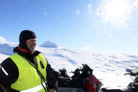 HAR ERFARING: Carl Norberg i Statens naturoppsyn (SNO) har drevet oppsyn på Helgeland.