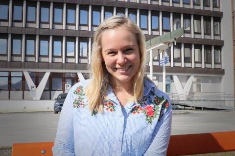 (K)NARVIKING: Astrid Rydland Aasen, opprinnelig fra Knarvik på vestlandet, gleder seg til å utforske naturen og kulturlivet i narvikområdet. Som relativt fersk kulturkonsulent ved UNN i Narvik er det kanskje det siste hun er mest opptatt av akkurat nå.