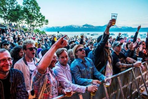 Buktafestivalen samler mye folk.