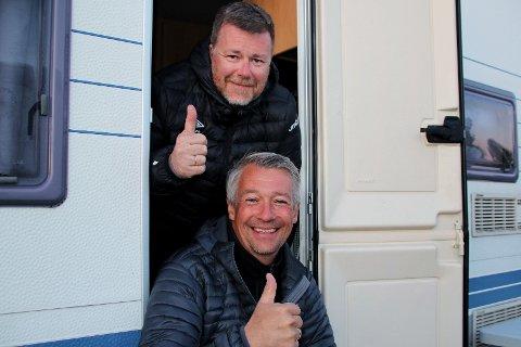 I PITEÅ: Kenneth Claeson (øverst) og Kenneth Olsen, sportslige ledere i henholdsvis Mjølner og Håkvik.