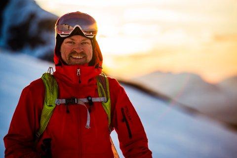 Fjellvant: Mikael af Ekenstam har gått mange fjellturer i løpet av livet sitt.