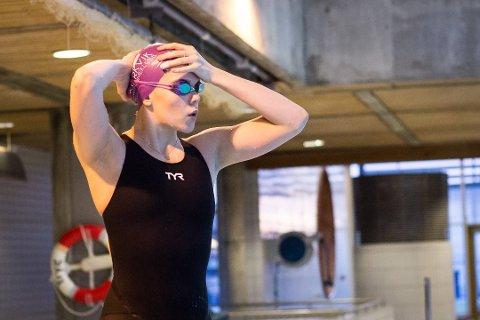 Ingeborg Vassbakk Løyning var bak sin egen norske rekord på 50 meter rygg under VM i svømming i Sør-Korea.