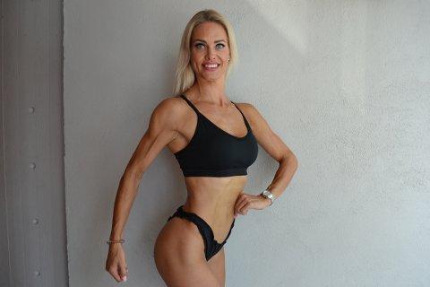 LANDSLAGET: Theresa Myrabø Herbro (42) kom inn på landslaget i fitness etter bare ett år i idretten.