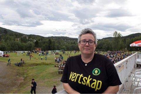 Glad for hjelp: Lederen for turneringen, Rakel Larsen, setter stor pris på alle frivillige som har bidratt.