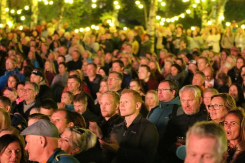 AVLYST: Publikum vil ikke kunne kose seg i Bromsgårdparken i år. Lørdag forsvant alt håp om at Haikjeften 2020 skulle bli noe av.