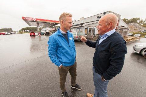 KREVER FINANSIERING: Helge Orten (H), leder av Stortingets transport- og kommunikasjonskomite, fikk klar beskjed fra Jardar Jensen (H) om at finansieringen av hele Hålogalandsveien må på plass.